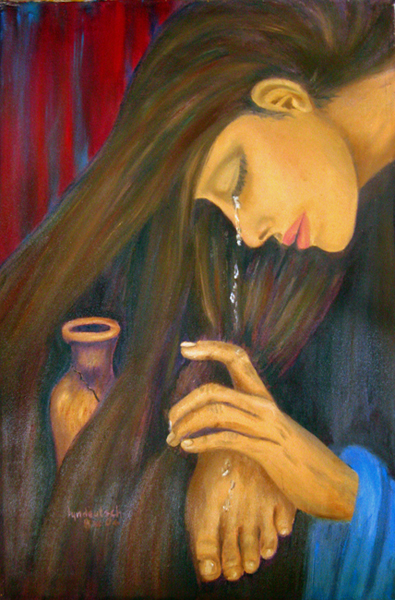Overflowing Gratitude The Woman With The Alabaster Jar First