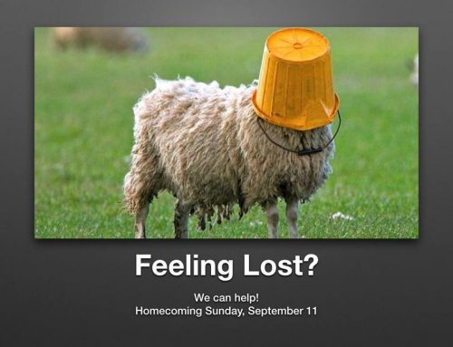 "September 11, 2016 Sermon – ""Lost Together"""