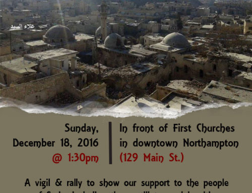 Help for Syria Urged at Northampton Rally