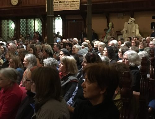 600 gather for climate action in Northampton