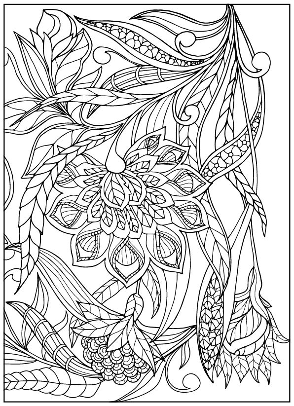 earth flower coloring pages - photo#31